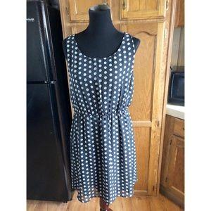 Chiffon Dress by Black Rainn Size Large